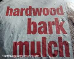 Photo of hardwood bark mulch