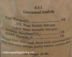 Photo of npk fertilizer