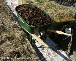 Photo of different types of mulch