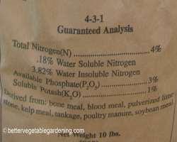 Photo of npk fertilizer