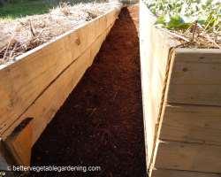 Photo of hardwood bark mulch path