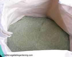 bag of alfalfa meal fertilizer