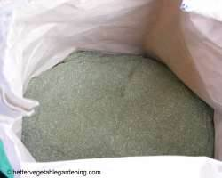 bag of alfalfa meal fertilizer