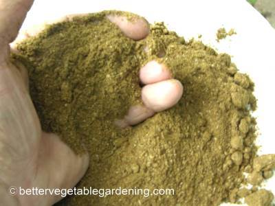 Fish powder is finer in consistency than fish meal and breaks down releasing nutrients a little faster